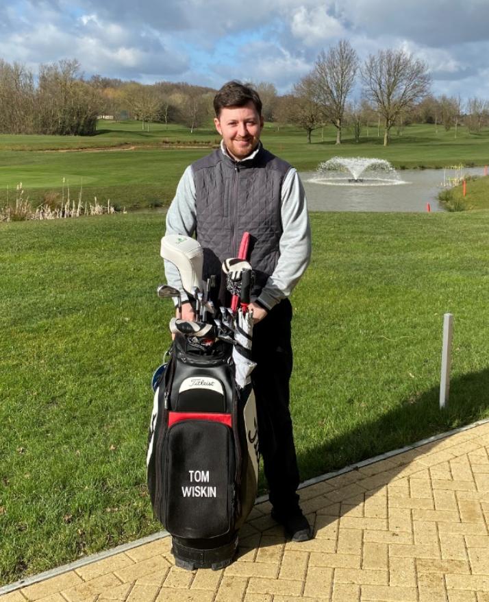 tom wiskin golf tuition